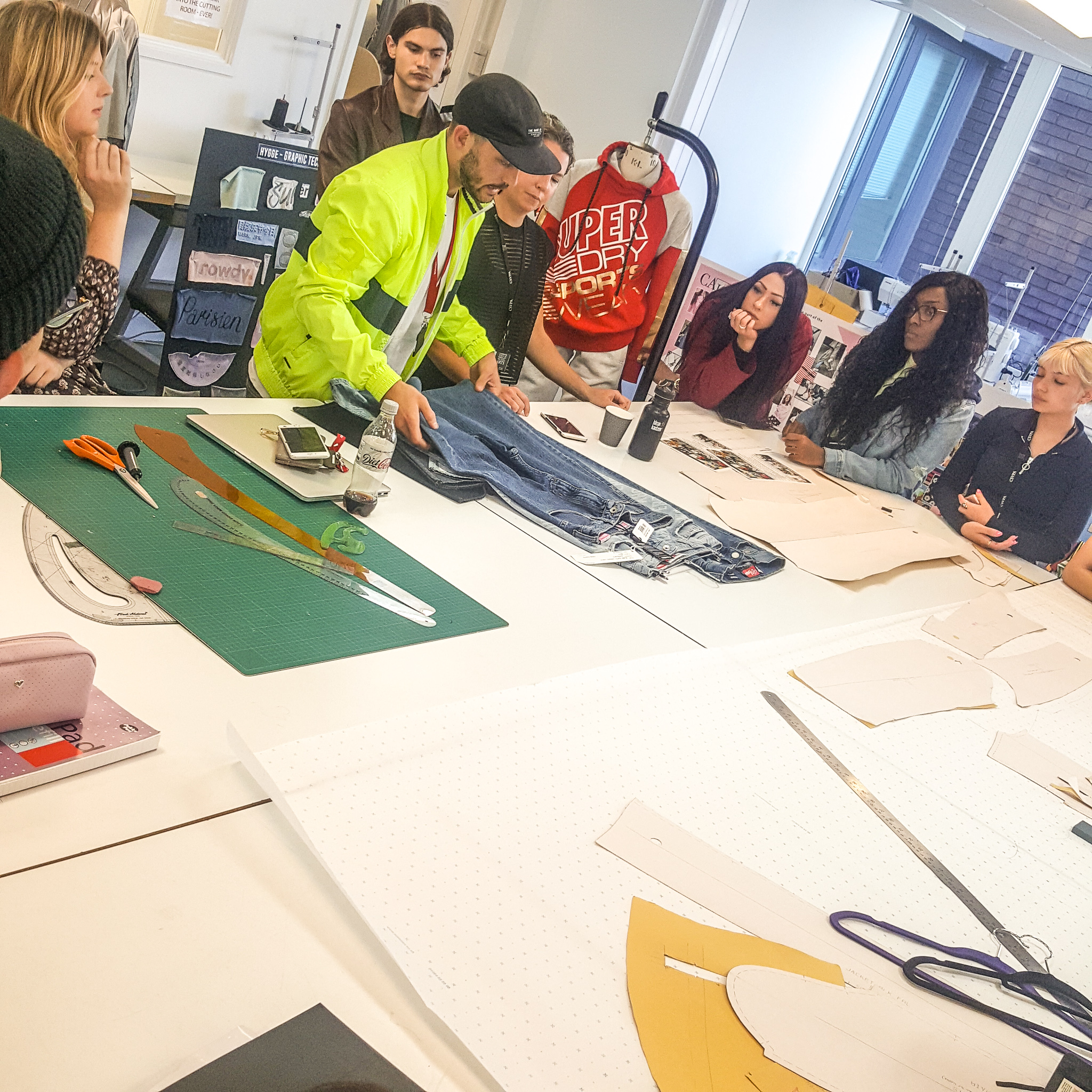 Ba Fashion Students Design Clothing With Superdry